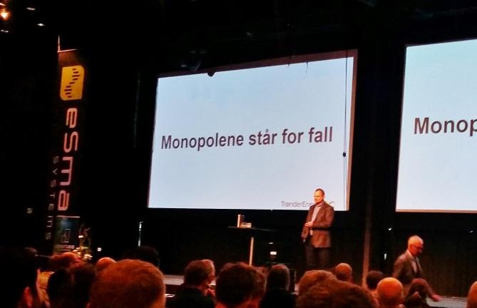 Monopolene står for fall